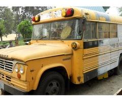 1964 DODGE SCHOOL BUS-MED SIZE-GAS