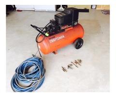 sears compressor 4 hp. 25 gal.