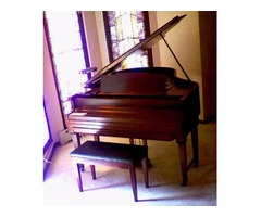 1924 Marshall-Wendell approx 5' baby grand ampico reproducer (player)