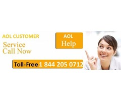 AOL customer service number (1-844-205-0712)