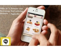 Offer 20 % Promote your Restaurant food ordering Business