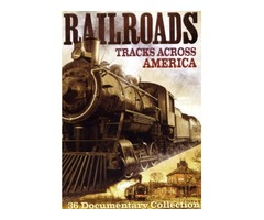 DVD - Railroads, Tracks Across America - NEW