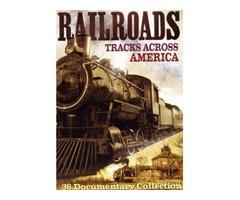 DVD - Railroads, Tracks Across America - NEW