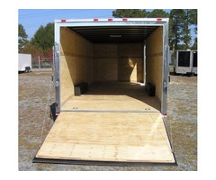 8.5 x 24 Enclosed Trailers with 5 K Axels