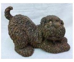Boyd Bear Garden Figure known as Wagsley. A rare collectible.