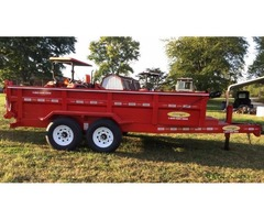 2018 Dump Trailer 7x14' 7Tons One Cyclinder