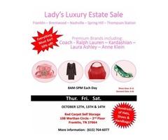 Lady's Luxury Estate Sale