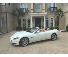 2013 Maserati Gran Turismo Base Convertible 2-Door