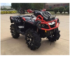 2016 Can-Am Outlander X mr 1000R at $3800