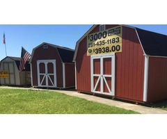 Storage building for subdivisions