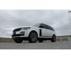 2014 Land Rover Range Rover Supercharged Sport Utility 4-Door