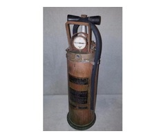 """Phister No. 1"""" One Fire Extinguisher by The Phister MFG Co. Cin"""