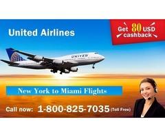 Save 80 USD on New York to Miami Flights