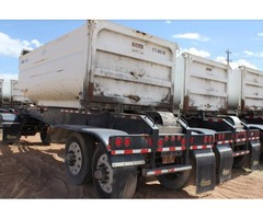 2007 Reliance 17 foot 3 axle Transfer Dump Trailers For Sale