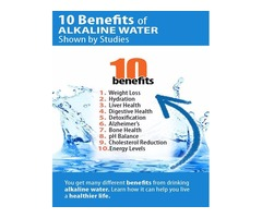Benefits of High Quality Alkaline Water