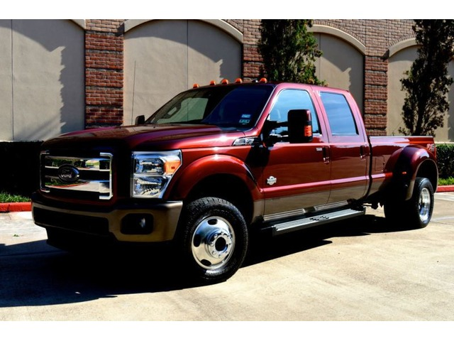 Ford King Ranch 2017 >> 2015 Ford F-350 King Ranch 4x4 4dr Crew Cab 8 ft. LB DRW ...