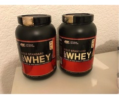 Whey Protein Optimum Nutrition Gold Standard 100% Whey Protein Powder - 908 g, Strawberry