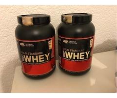 Whey Protein Optimum Nutrition Gold Standard 100% Whey Protein Powder - 908 g, Strawberry