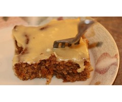 Carrot Cake & Cream Cheese Frosting: Timothy in the Kitchen