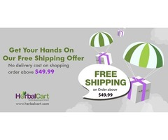 FREE Shipping at Herbalcart.com - Halloween OFFER 2017