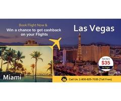 Save 35% on Miami to Las Vegas Flights
