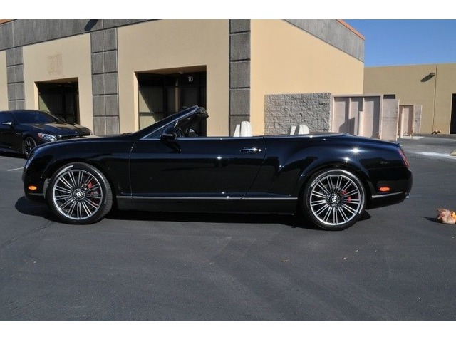 2011 Bentley Continental Gt Gtc Speed Convertible 2 Door Elite