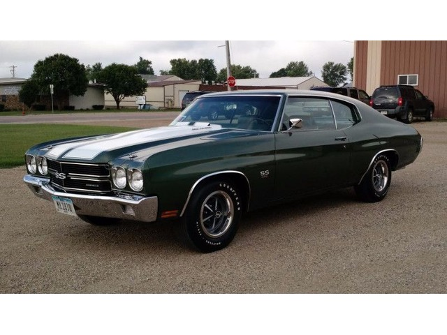 1970 Chevrolet Chevelle Ss For Sale Classic Cars Hull Iowa