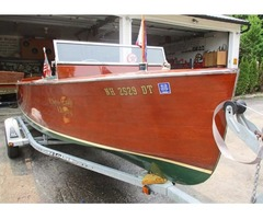 1935 18ft Chris Craft Open utility