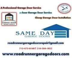 Garage door installation & repairs in Rowlett, TX