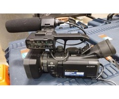2 Sony NXCAM Camera Recorders (Model: HXR-NX70U)