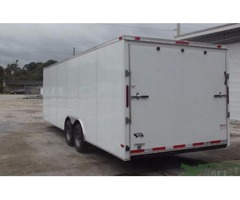ATV Trailer for sale 8.5 foot x 24 Wht Ext. NEW
