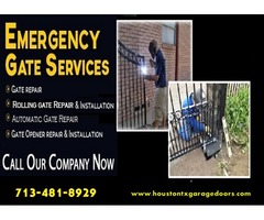Starting @ $26.95 Automatic Gate Repair Service in Houston| Call Now! (713-481-8929)