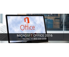 Get Microsoft Office Support to Know Microsoft Office 2016 Features