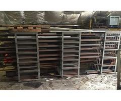 Steel Shelving- Steel Racks- Misc Steel