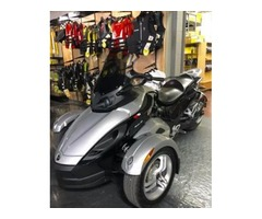 2009 Can-Am Spyder GS SM5 Roadster Motorcycle in Silver - $8995