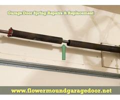 Best Garage Door Spring Repair in Flower Mound   Same Day Service