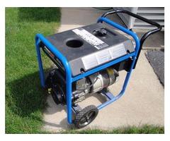 5,250-Watt Gas Recoil Start Portable Electric Generator with Tecumseh 10 HP Engine