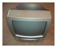 TV/VCR combo color toshiba/remote