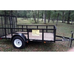Brand new 6 by 10 utility trailer