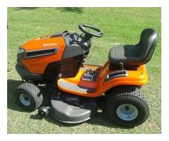 Brand new Husqvarna 46 inch 22 horsepower riding mower