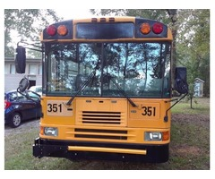2001 city school bus