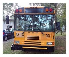 2001 city school bus
