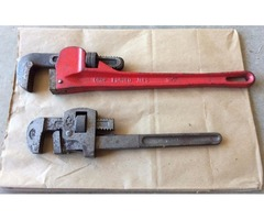 "14"" and 18"" Drop Forged Pipe Wrenches"