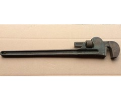 Berylco 24 inch Brass Adjustable Pipe Wrench