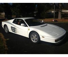 1989 Ferrari Testarossa Base Coupe 2-Door