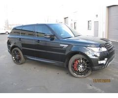 2014 Land Rover Range Rover Sport Supercharged Sport Utility 4-Door