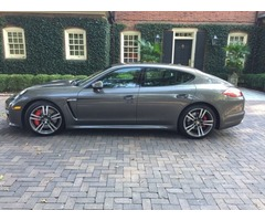 2013 Porsche Panamera Turbo Hatchback 4-Door