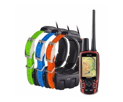 GARMIN ASTRO 320 GPS + 5 DC 40 COLLAR DOG TRACKING COLLARS----$500 usd