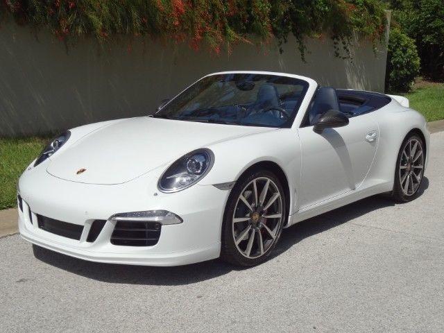 2014 Porsche 911 Carrera S Convertible 2 Door