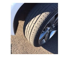 KUMHO SOLUS TIRES Size: 215/40R18 (Set of 4*Used )